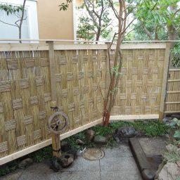 竹垣・板塀
